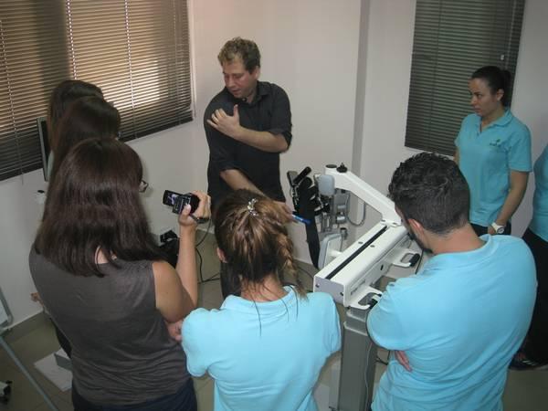 Εκπαίδευση Προσωπικού στο ρομποτικό σύστημα αποκατάστασης για το άνω άκρο Armeo Spring